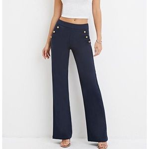 🆕 {F21} Navy Sailor Military Trouser Pants